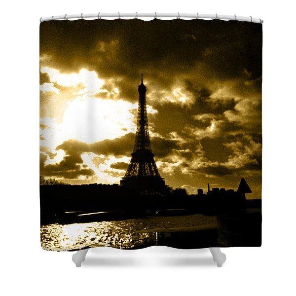 A Symbol Shower Curtain