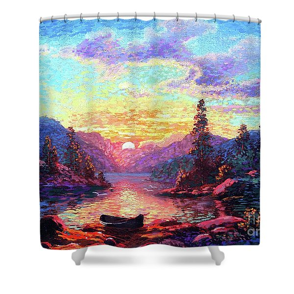 A Time For Peace Shower Curtain