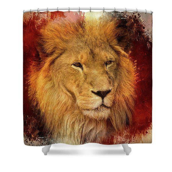 A Tribute To Asante Shower Curtain