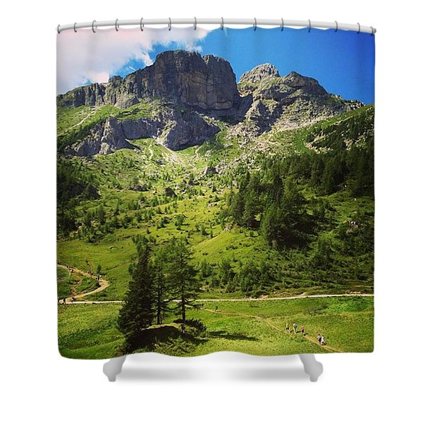 A Trip To Remember Shower Curtain