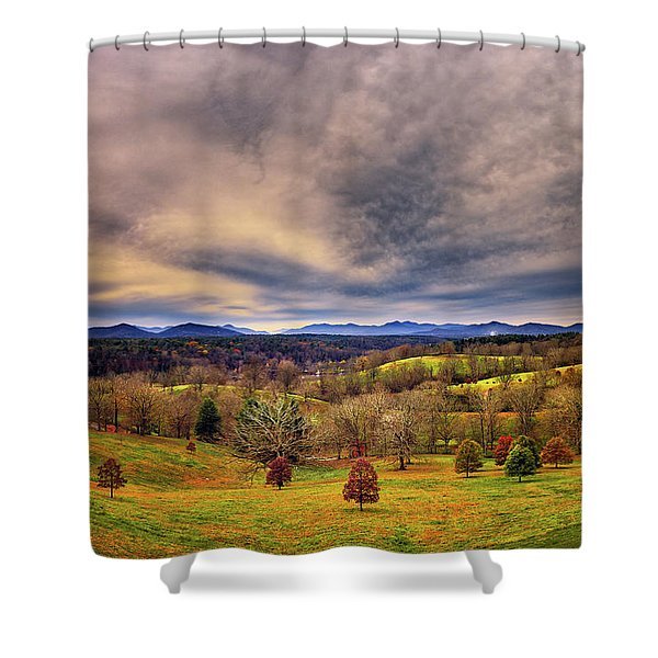 A View From The Biltmore Shower Curtain