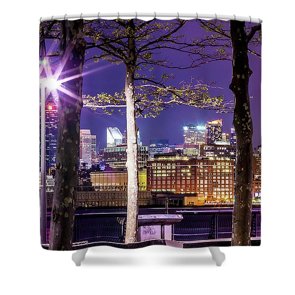 A View To Behold Shower Curtain