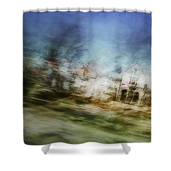 A Walk On The East Side Shower Curtain