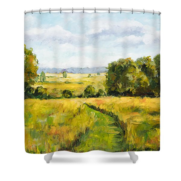 A Walk Thru The Fields Shower Curtain
