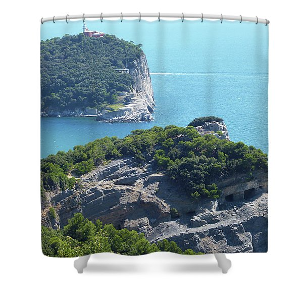 A Way To The Ocean Shower Curtain
