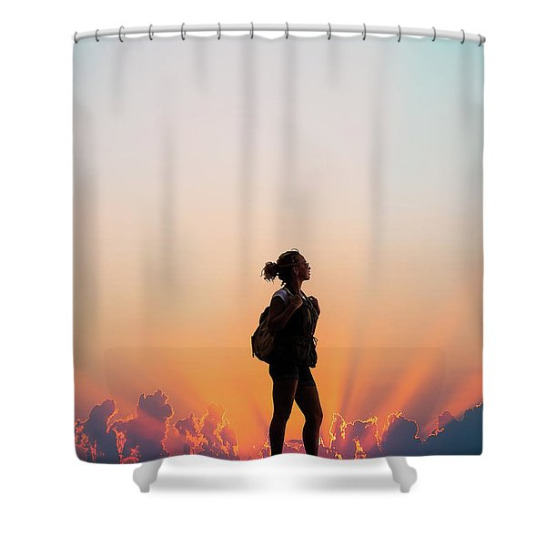 A World Of Adventure Shower Curtain