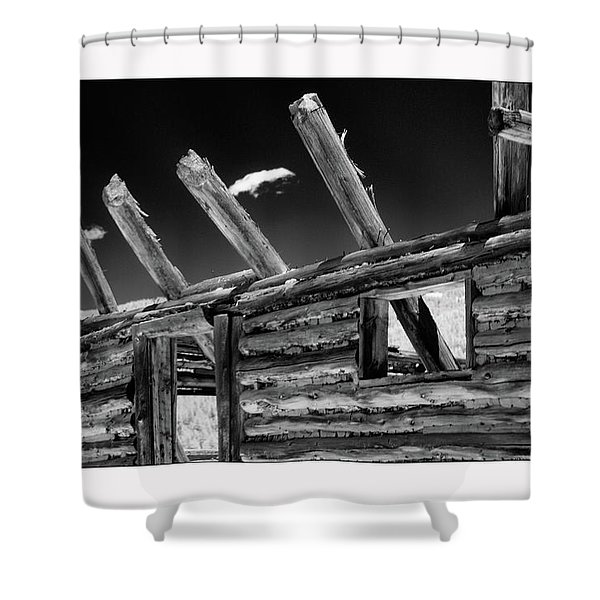 Abandon View Shower Curtain