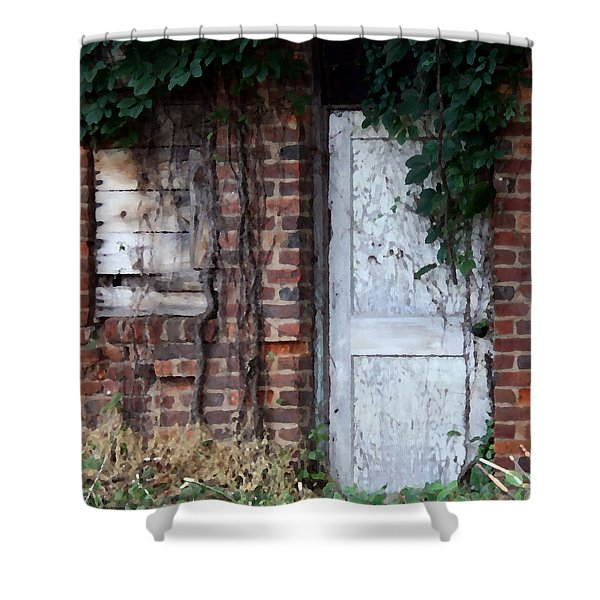 Abandoned Building Shower Curtain