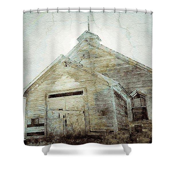 Abandoned Church 1 Shower Curtain