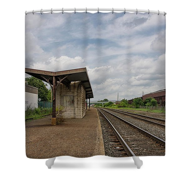 Abandoned Depot Shower Curtain