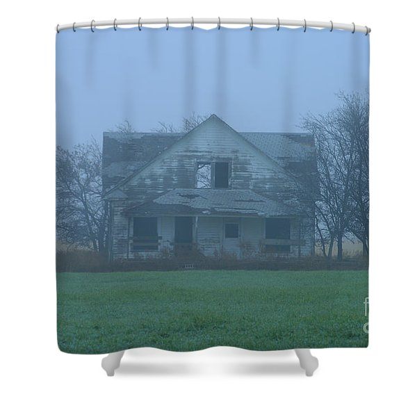 Abandoned In Oklahoma Shower Curtain