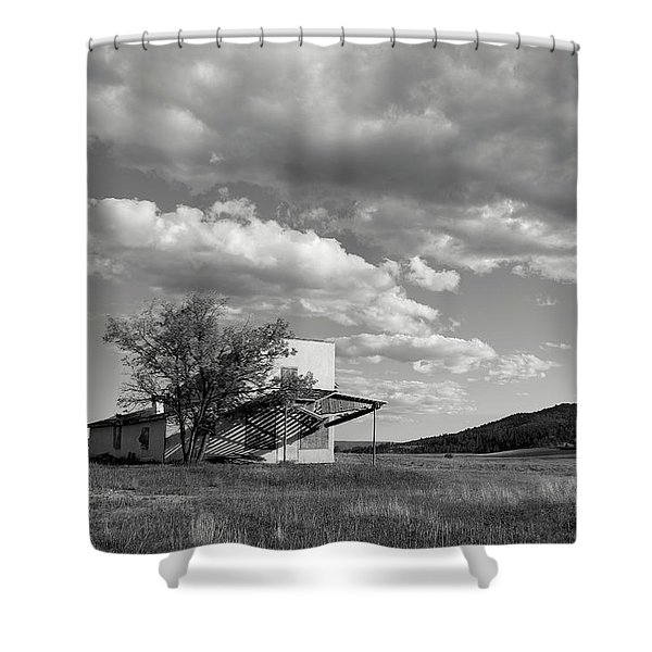 Abandoned In Wyoming Shower Curtain