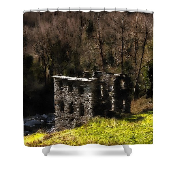 Abandoned Mill What Remains ... Shower Curtain
