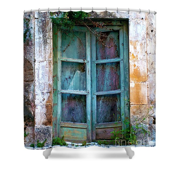 Abandoned Sicilian Sound Of Noto Shower Curtain