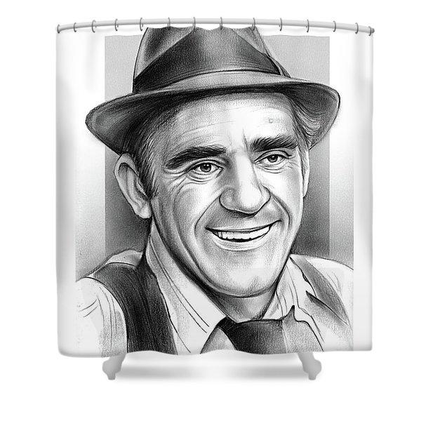 Abe Vigoda Shower Curtain