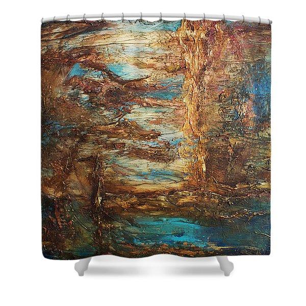 Lagoon Shower Curtain