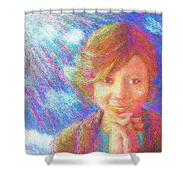 Abiding In Faith Shower Curtain
