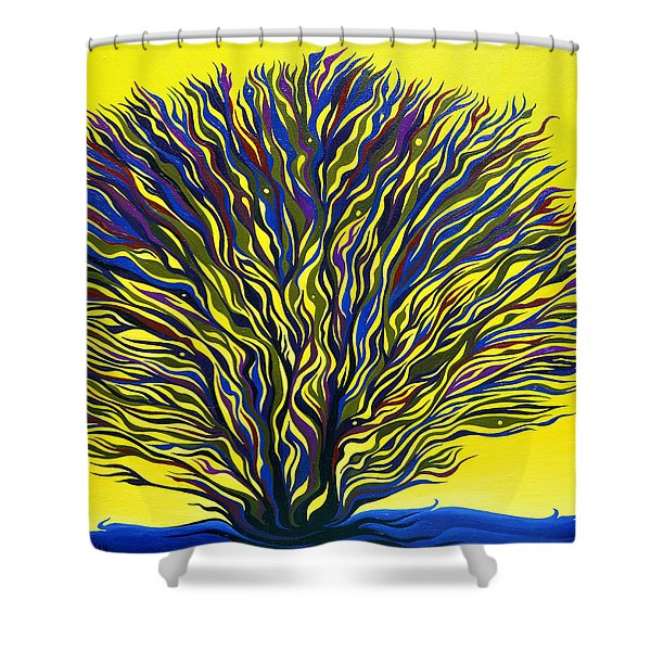 About To Sprout Shower Curtain