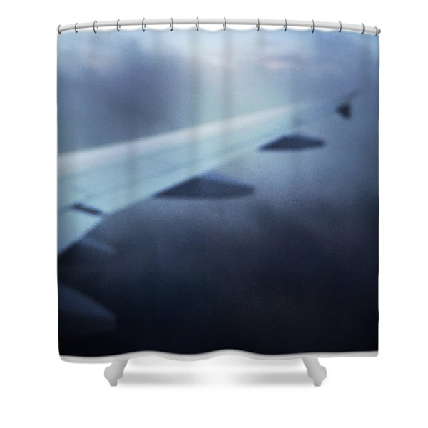 Above The Clouds 04 - Dreaming Shower Curtain