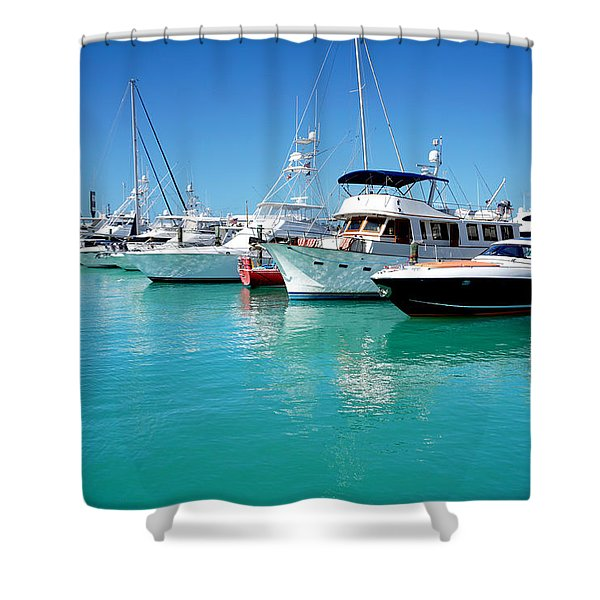 Above Water Shower Curtain