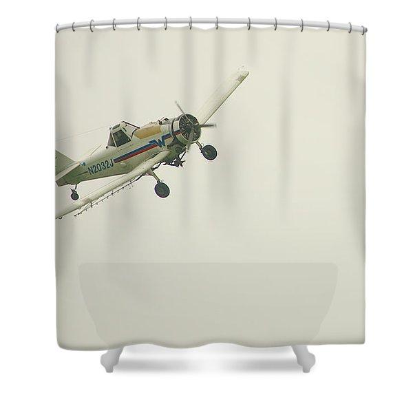 Above Worthington Shower Curtain