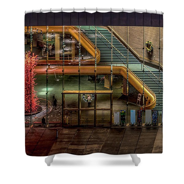 Abravanel Hall Shower Curtain
