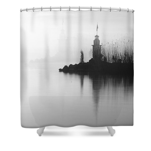 Absolute Beauty Shower Curtain