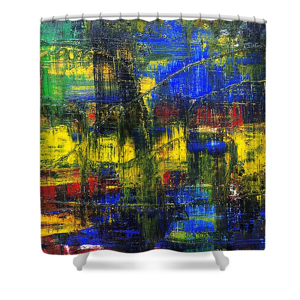 Abstract # 2  Shower Curtain
