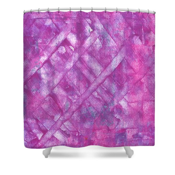 She's A Thrill Seeker  Shower Curtain