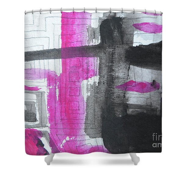 Abstract-15 Shower Curtain