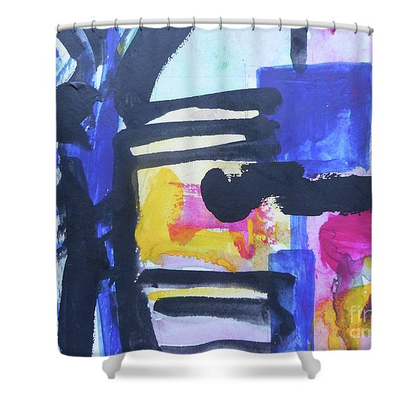 Abstract-16 Shower Curtain