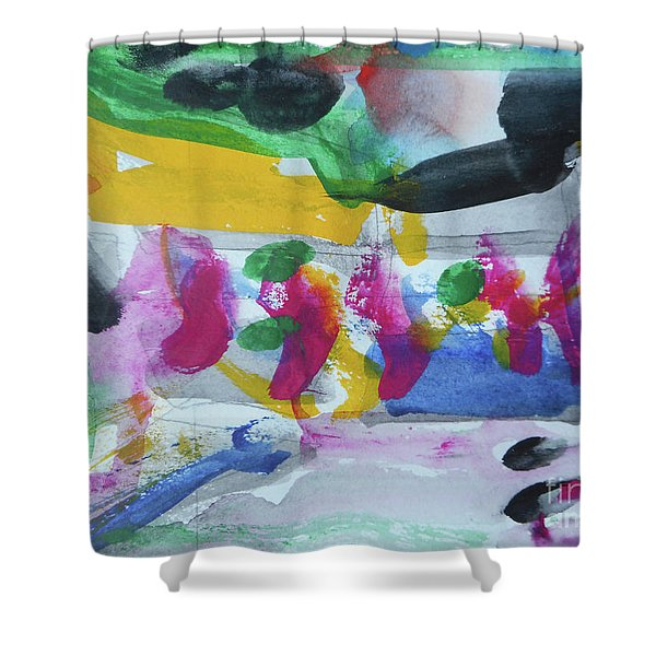 Abstract-17 Shower Curtain