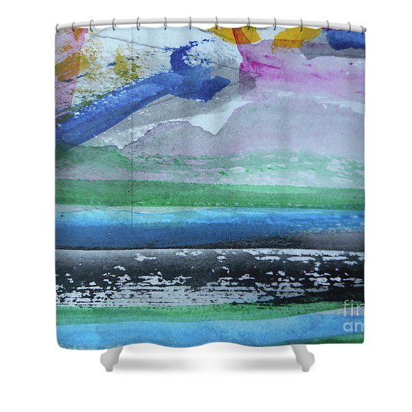 Abstract-18 Shower Curtain