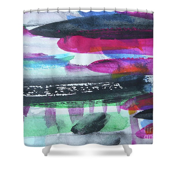 Abstract-19 Shower Curtain