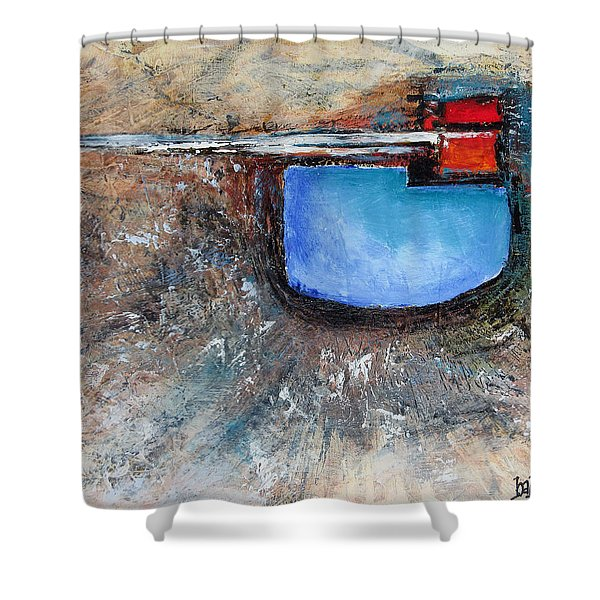 Abstract 200112 Shower Curtain