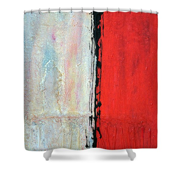 Abstract 200803 Shower Curtain