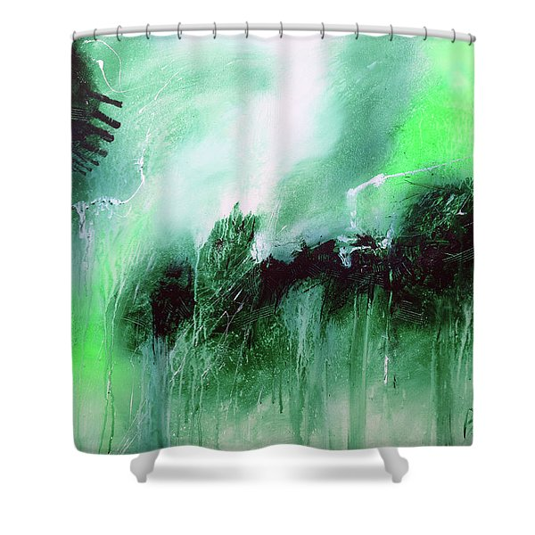 Abstract 2013013 Shower Curtain