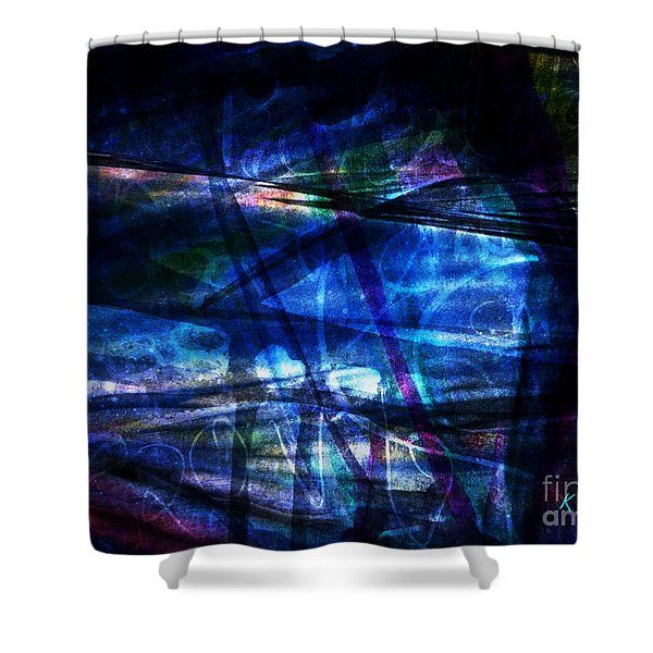 Abstract-20a Shower Curtain