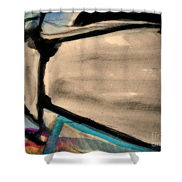 Abstract-22 Shower Curtain