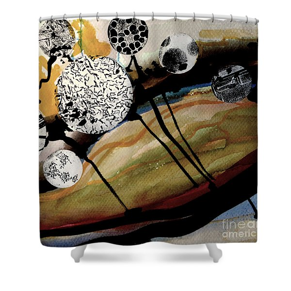 Abstract-23 Shower Curtain
