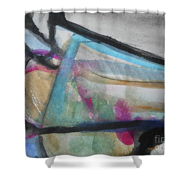 Abstract-24 Shower Curtain