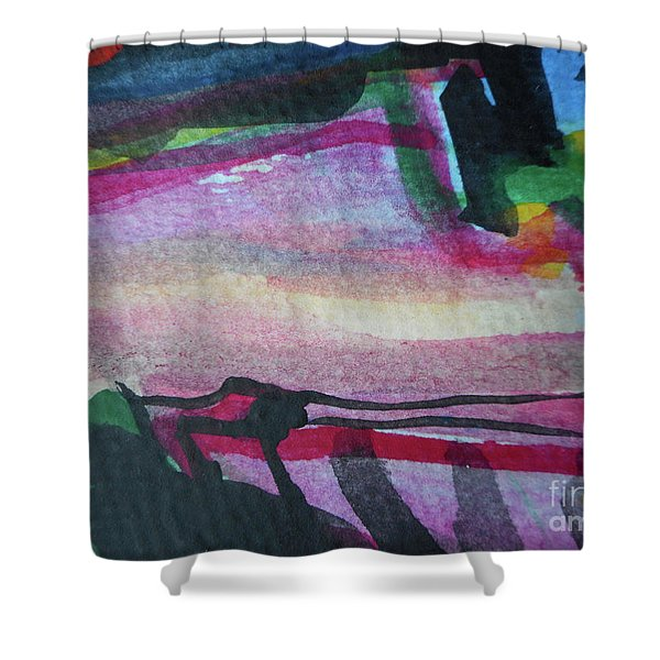 Abstract-25 Shower Curtain