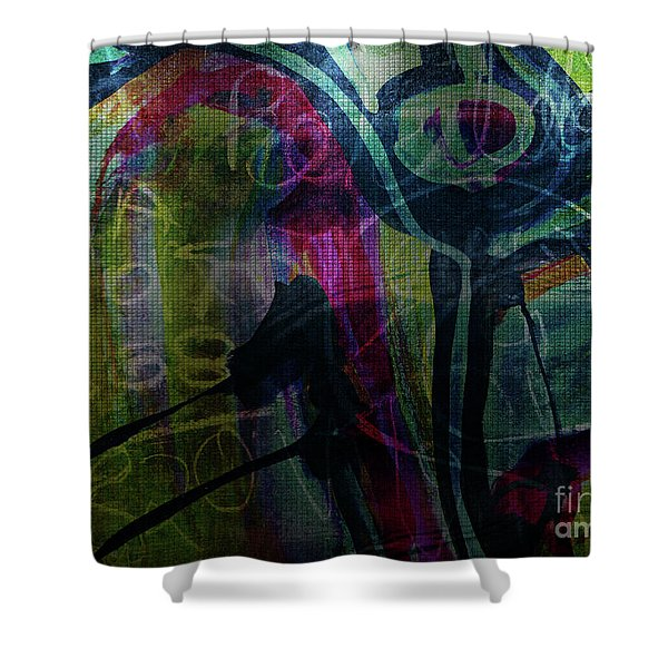 Abstract-30 Shower Curtain