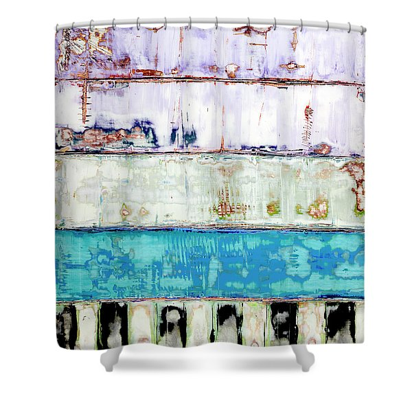 Art Print Abstract 31 Shower Curtain