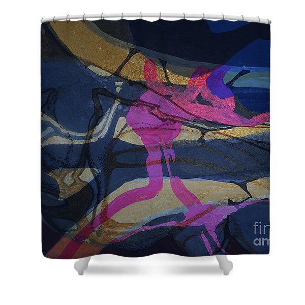 Abstract-33 Shower Curtain