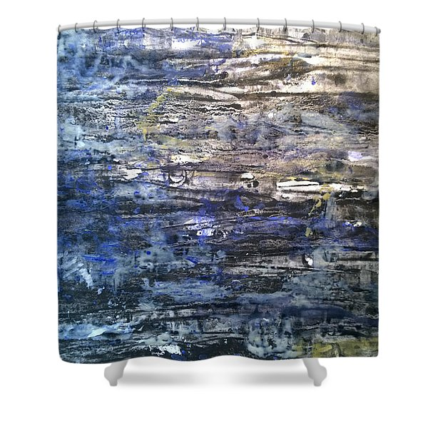 Abstract #334 Shower Curtain