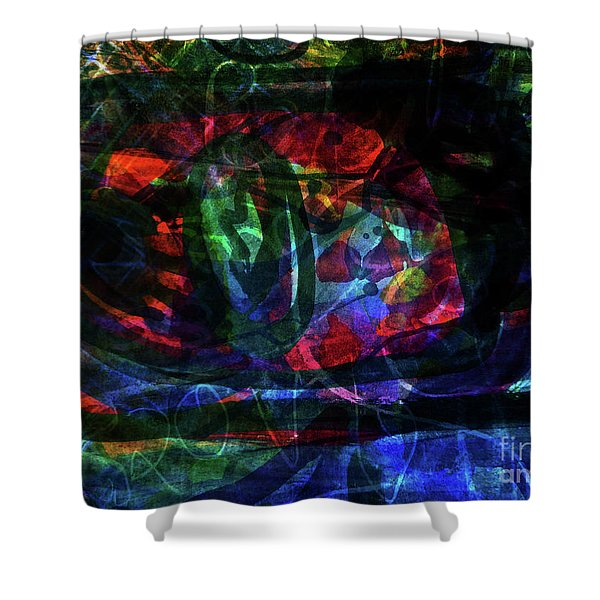 Abstract-34 Shower Curtain
