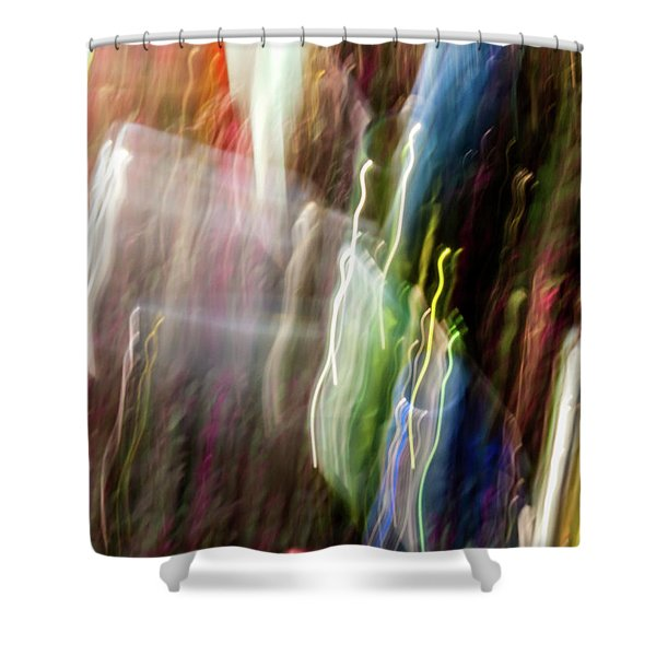 Abstract-4 Shower Curtain