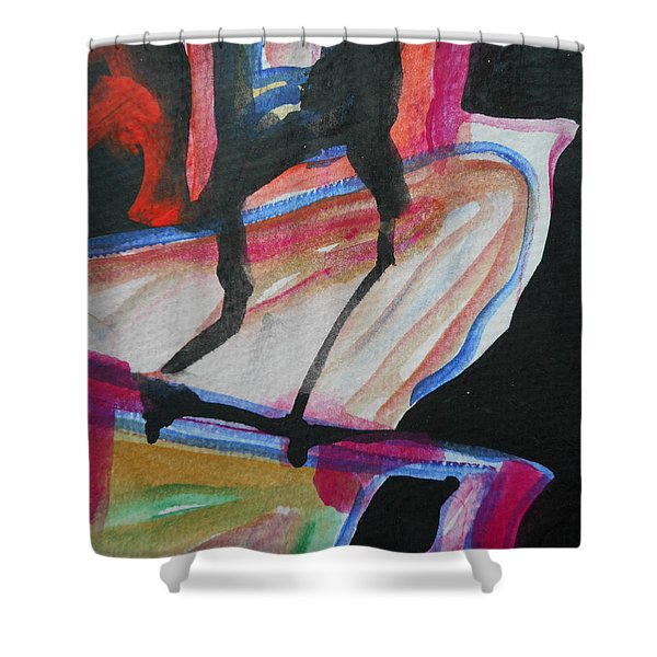 Abstract-5 Shower Curtain