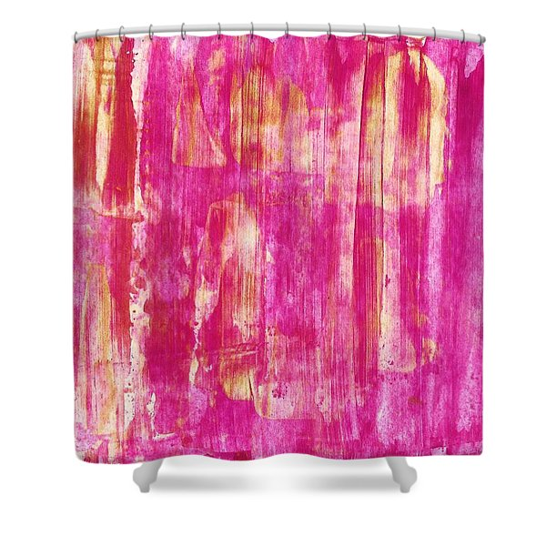 Live Bravely Shower Curtain